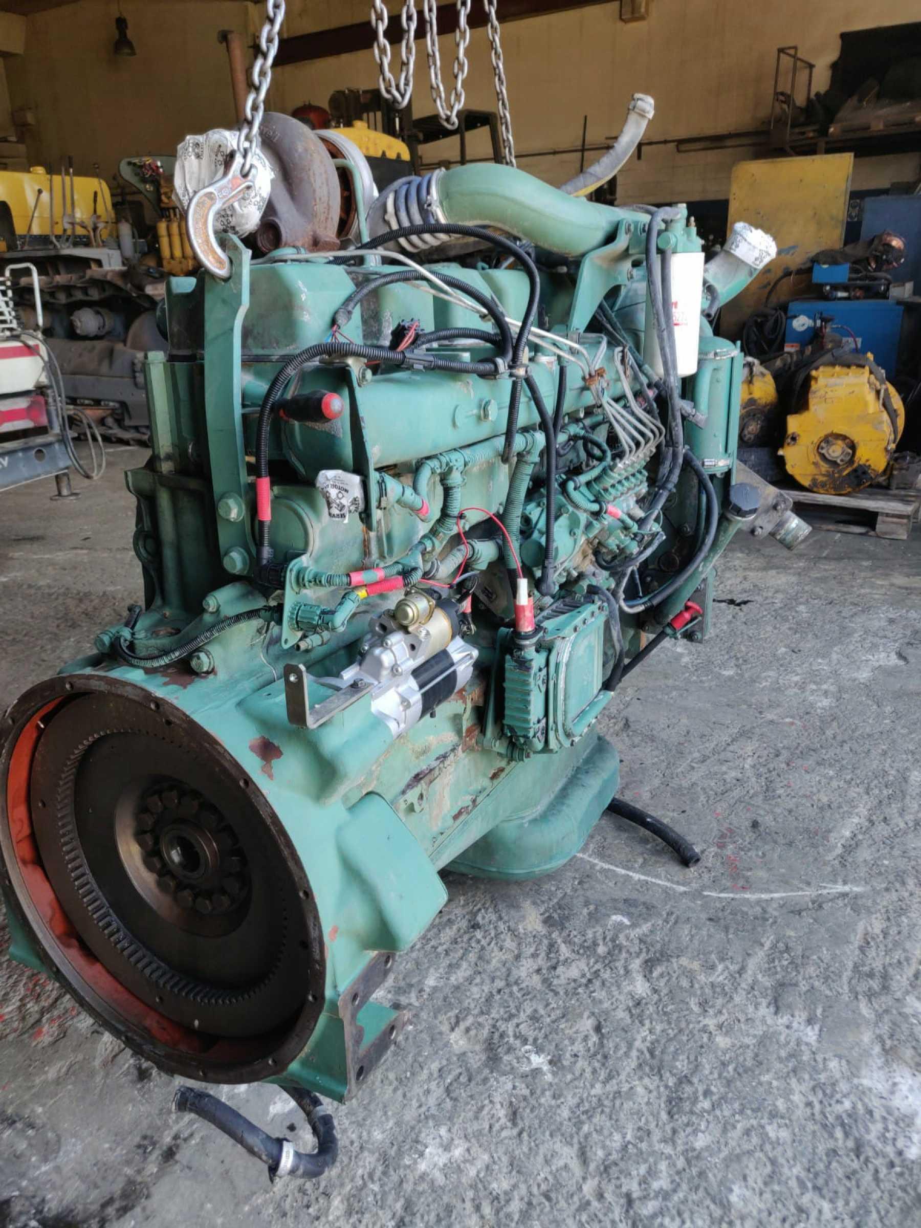 370 KW - 503 HP. Motore perfettamente funzionante.