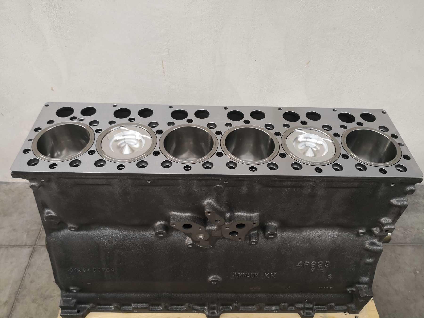 Our short block include:Engine Block, Crankshaft (