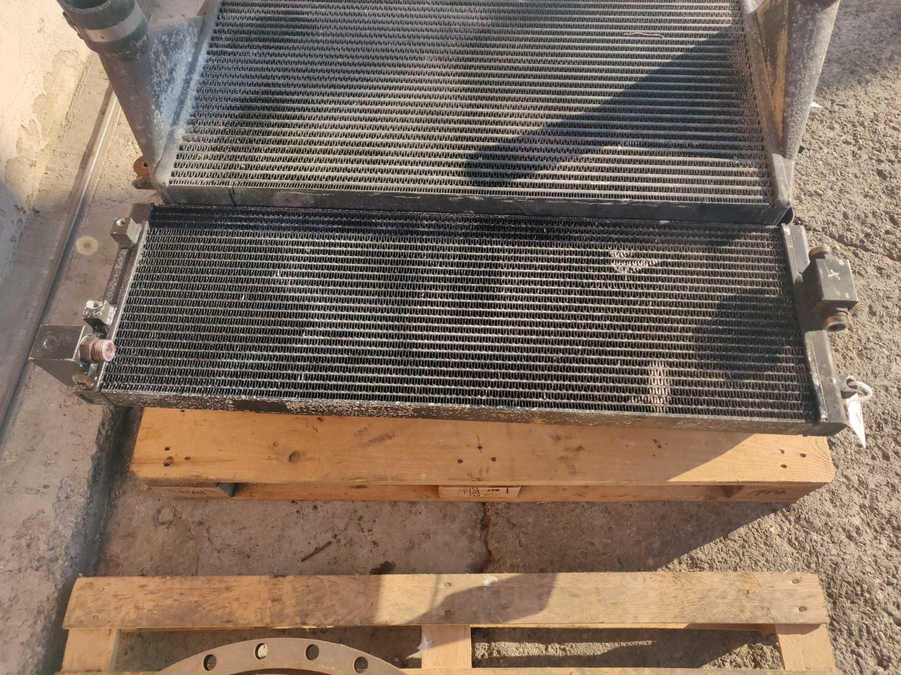 Radiatore olio idraulico
