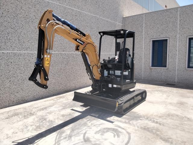 Escavatore cingolato nuovo completo di tettuccioRo